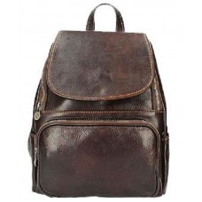 Кожаный рюкзак Bottega Carele BC722-dark-brown темно-коричневый