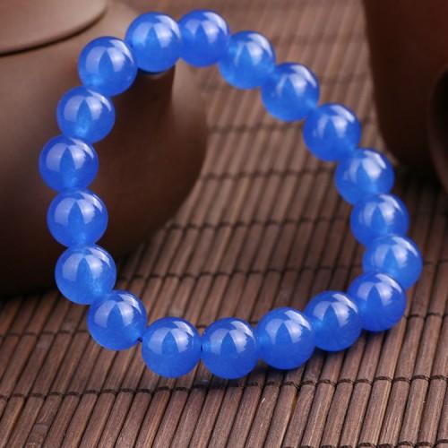 Браслет из натурального камня Синий Кварц