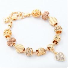 Браслет Pandora Shell золотой