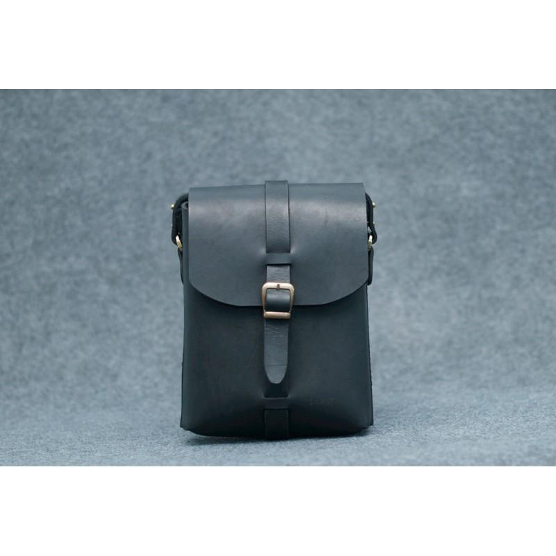 Чоловіча шкіряна сумка black Shoulder bag чорна CARNEM ручної роботи ... 4f55c64d433d6