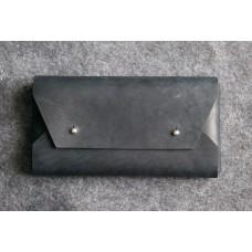 Мужской клатч-конверт dark blue clutch темно-синий