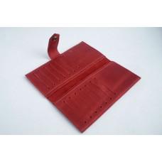 Тревел кейс кожаный DEKEY 1.0 красный