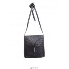 Женская кожаная сумка KYRA (Р2281) черная
