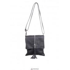 Женская кожаная сумка SAMIRA (TR931) черная