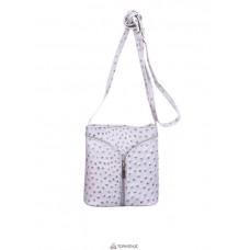 Женская кожаная сумка KYRA (Р2281) серая
