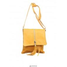 Женская кожаная сумка SAMIRA (TR931) желтая