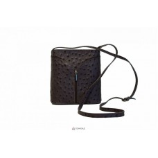 Женская кожаная сумка KYRA (Р2281) пепельная