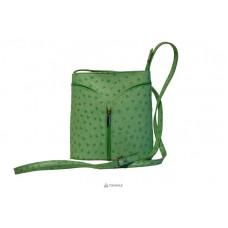 Женская кожаная сумка KYRA (Р2281) зеленая