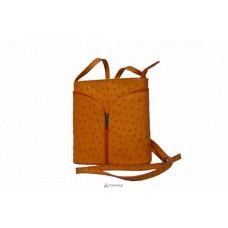 Женская кожаная сумка KYRA (Р2281) оранжевая
