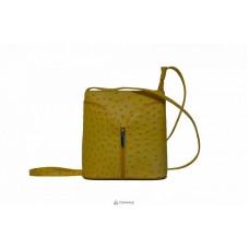 Женская кожаная сумка KYRA (Р2281) желтая
