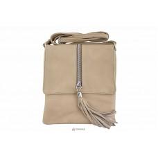 Женская кожаная сумка SAMIRA (TR931) тауп