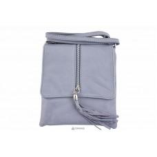 Женская кожаная сумка SAMIRA (TR931) серая