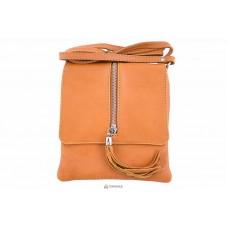 Женская кожаная сумка SAMIRA (TR931) оранжевая