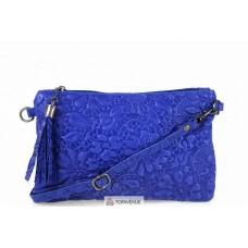 Женская кожаная сумка Kisha (TR104) синяя