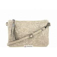 Женская кожаная сумка Kisha (TR104) тауп