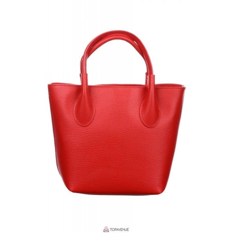 1d5b15fa5b6a Женская кожаная сумка Molly (M8837) красная DIVAS из Италии