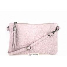 Женская кожаная сумка Kisha (TR104) розовая