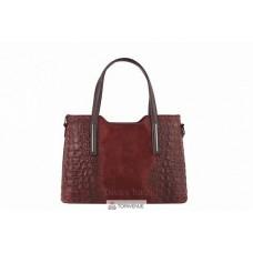 Женская кожаная сумка Maurine (M8955) бордовый