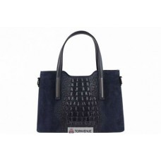 Женская кожаная сумка Maurine (M8955) синий