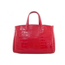 Женская кожаная сумка Natalia (M8864) красная