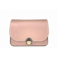 Женская кожаная сумка Dina (TR114) розовая