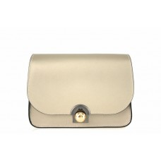 Женская кожаная сумка Dina (TR114) золотая