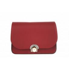 Женская кожаная сумка Dina (TR114) красная