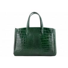Женская кожаная сумка Natalia (M8864) зеленая