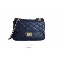 Женская кожаная сумка VALENTINA (TR924) синяя