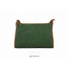 Женская кожаная сумка Trasea (TR 969) зеленая