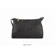 Женская кожаная сумка Trasea (TR 969) черная