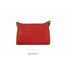 Женская кожаная сумка Trasea (TR 969) красная