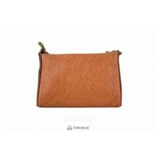 Женская кожаная сумка Trasea (TR 969) коньячная
