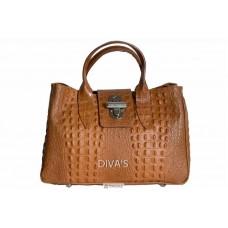 Женская кожаная сумка LAURA (BM11205) коньячная