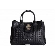 Женская кожаная сумка LAURA (BM11205) черная