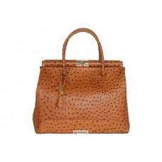 Женская кожаная сумка GILDA ( M8835) коньячная