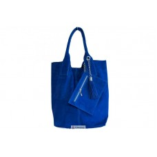 Женская замшевая сумка ARIANNA (S6813) синяя