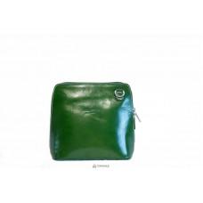Женская кожаная сумка RAMONA (TR923) зеленая