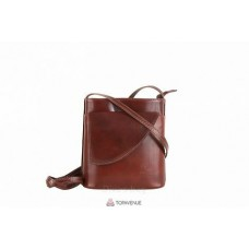 Женская кожаная сумка Dotty (TR964) коричневая