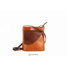 Женская кожаная сумка Dotty (TR964) коньячная