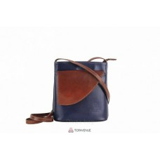 Женская кожаная сумка Dotty (TR964) синяя
