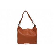 Женская кожаная сумка LORELLA (BS15207) коньячная