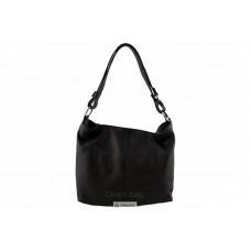 Женская кожаная сумка LORELLA (BS15207) черная