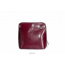 Женская кожаная сумка RAMONA (TR923) бордовая