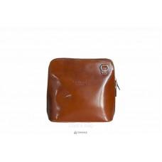 Женская кожаная сумка RAMONA (TR923) коньячная