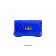 Женская кожаная сумка Kitty (P2310) синяя