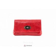 Женская кожаная сумка Kitty (P2310) красная