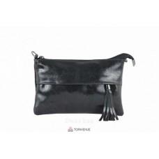 Женский кожаный клатч Lelia (TR982) черный