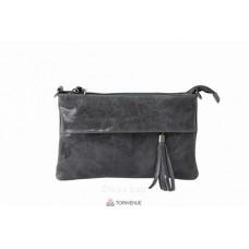 Женский кожаный клатч Lelia (TR982) серый