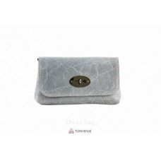 Женская кожаная сумка Kitty (P2310) серая